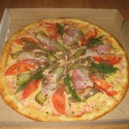 Как разогреть пиццу в микроволновке?