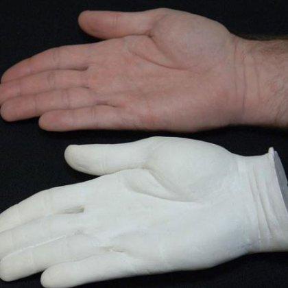 Как сделать отливку руки 976
