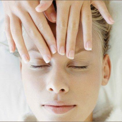 Как делать массаж лба