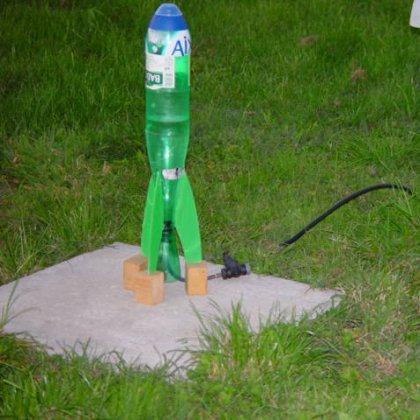 Как сделать водяной ракету своими руками