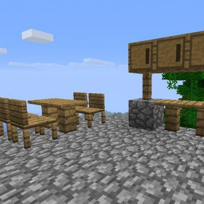 Что дает в игре Майнкрафт (Minecraft) мод на мебель?