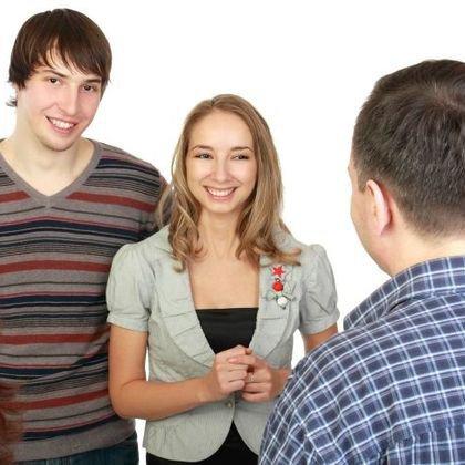 как познакомить парня с отчимом