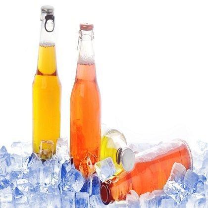 Как сохранить холодными напитки летом