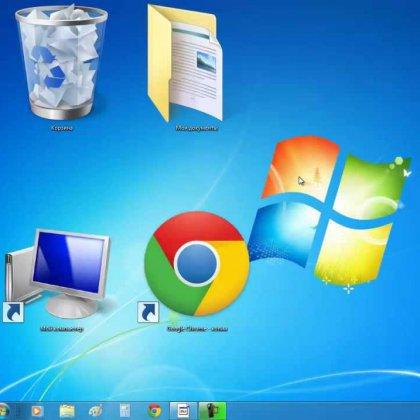 Как сделать значки на рабочем столе windows 8