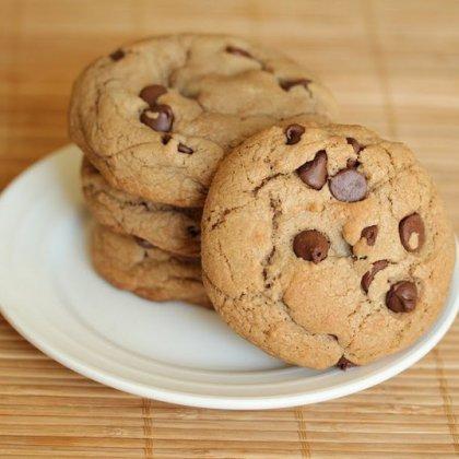 Как приготовить домашнее печенье с шоколадной крошкой?