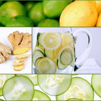 Огурец, лимон, имбирь: диета для плоского живота