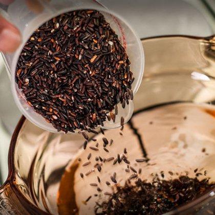 Как варить черный рис?