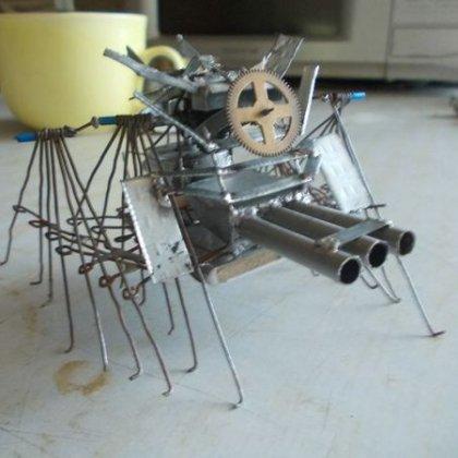 Самодельный робот из скрепок - Все Сам - сайт