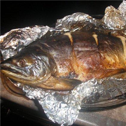 Запечь горбушу в духовке целиком с фото пошагово