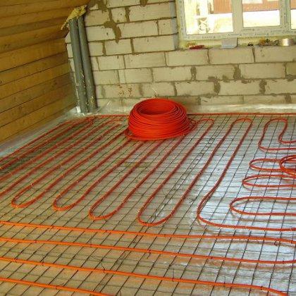 Как сделать электрический теплый пол?