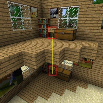 Как построить быстрый лифт в Майнкрафт (Minecraft) ?