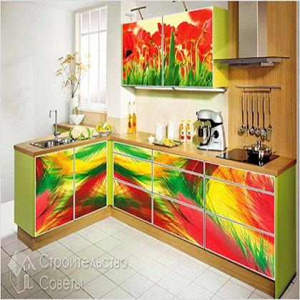 Как можно обновить кухонный гарнитур?