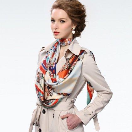 Как красиво носить  шарф?