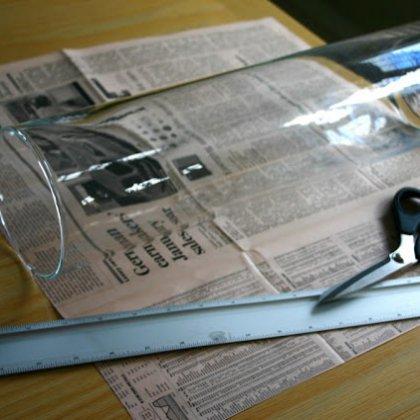 Как сделать обложку из газеты?