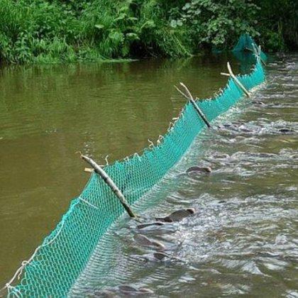 Как ставить сети на реке: рыболовную сеть на реке