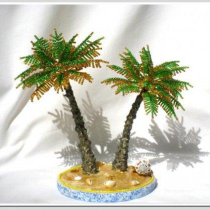 Как сделать пальму из полторашек фото 405