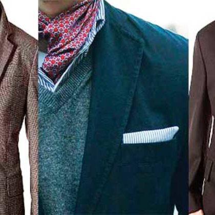 Как завязать шарф под пальто?