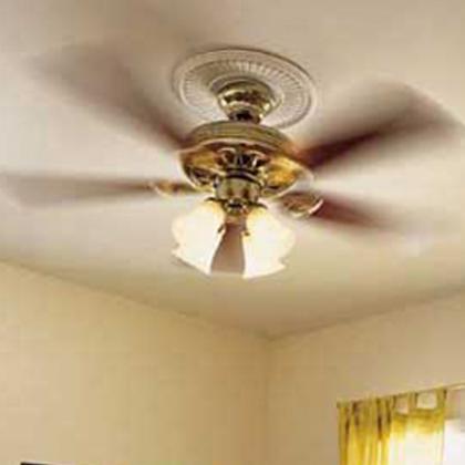 Как подключить люстру с вентилятором?