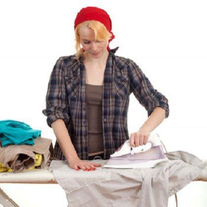 Как правильно гладить вещи?
