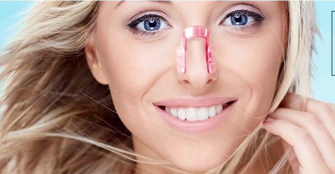 В домашних условиях выровнять нос